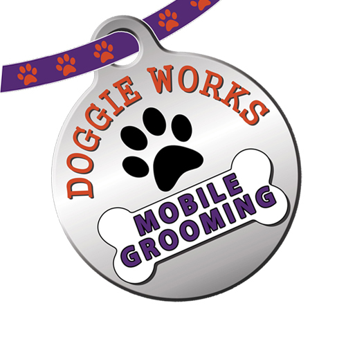 Doggy works logo for website